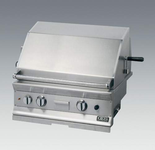 38 inch Z-Grill. To your right shows our 38 inch.  Click for its open and close demonstration.