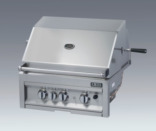 28 inch Sapphire Grill. To your right shows our 38, and 42 inch.  Click for their open and close demonstration.