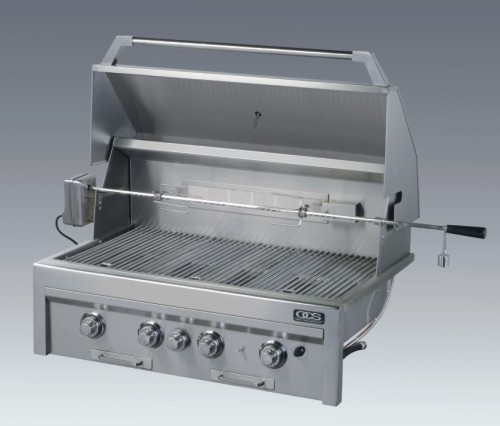 38 inch Z-Grill. To your right shows our 28 inch.  Click for its open and close demonstration.