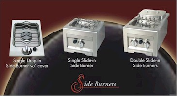 Click to find your Stainless Steel Doors, Drawers and Side Burners